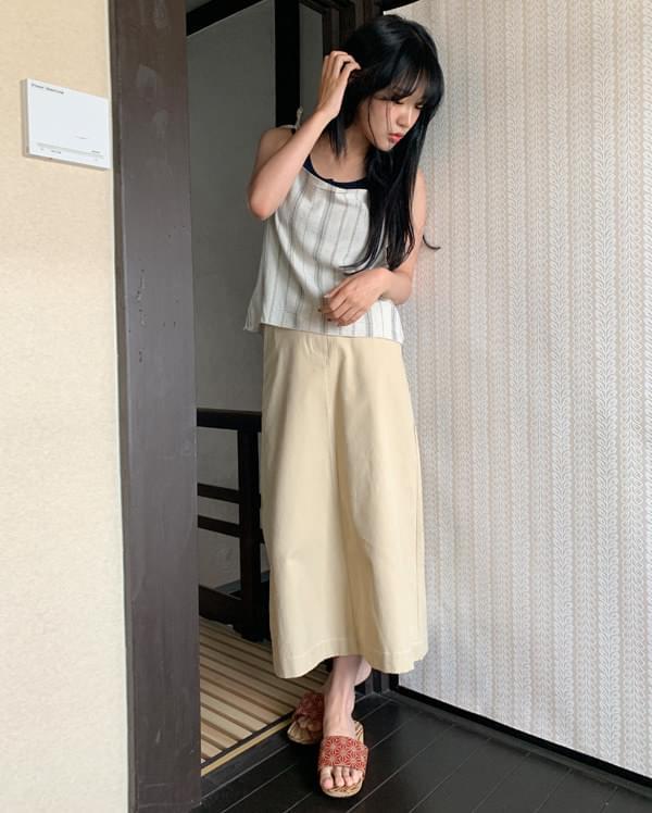 bread basic long skirt