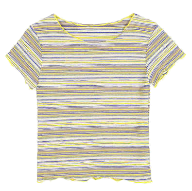 wave slim stripe 1/2 T - woman