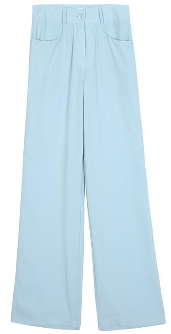 french long slacks - woman