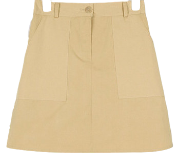 crab pocket banding skirt