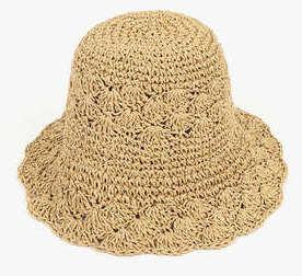 race straw hat