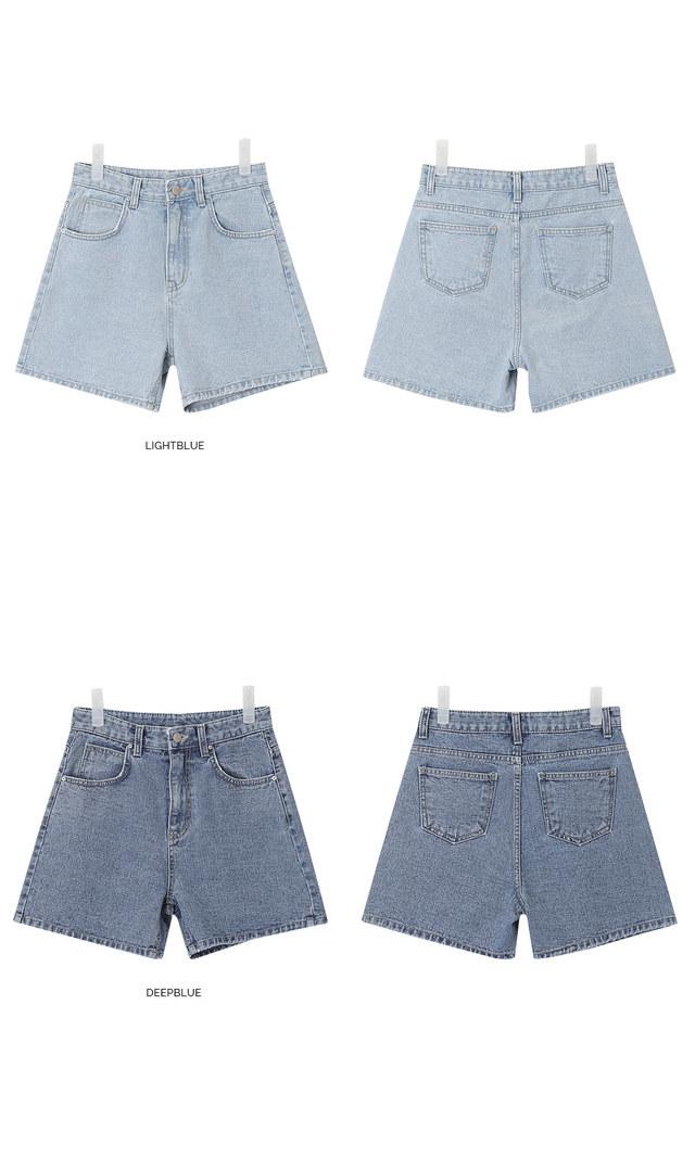 SHALOM denim half pants (s, m, l)