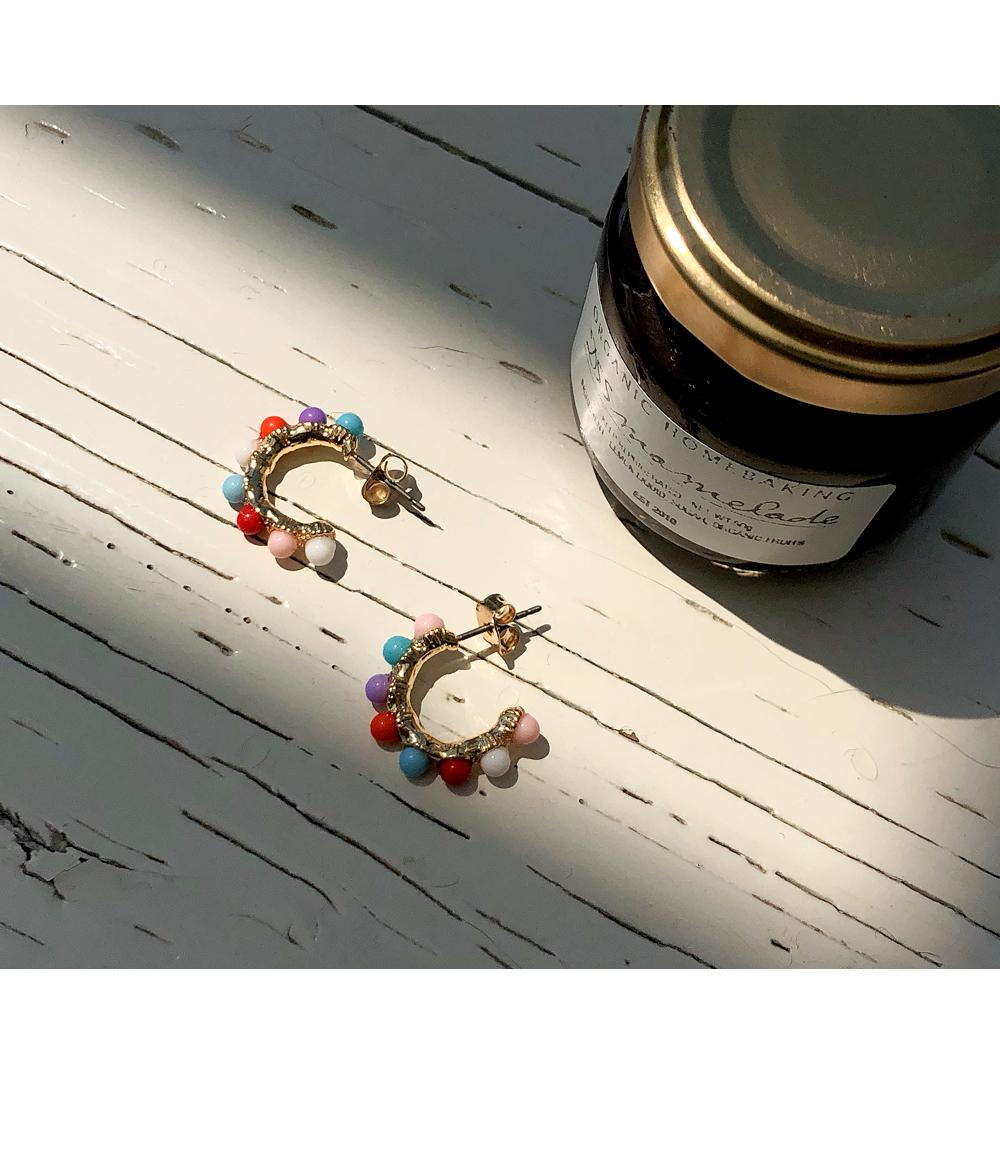Glitter Bow Earrings