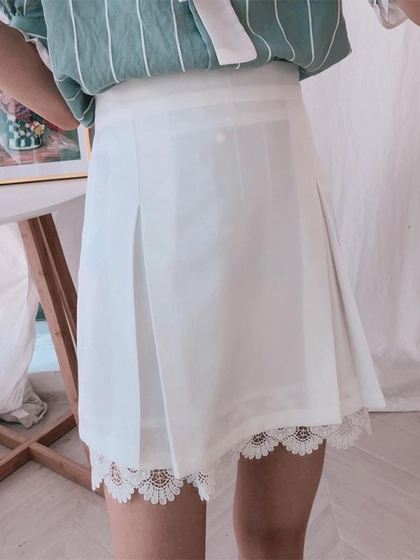 Kinder Race Pleated Skirt