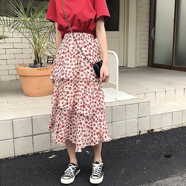 Cangkang Flower Skirt