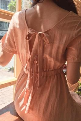 Double Back Ribbon Dress