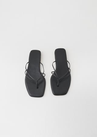 strip modern sandals