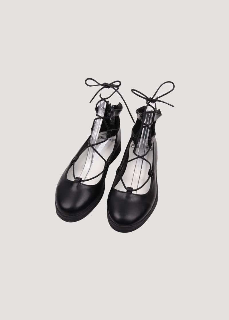 Strap point sandals