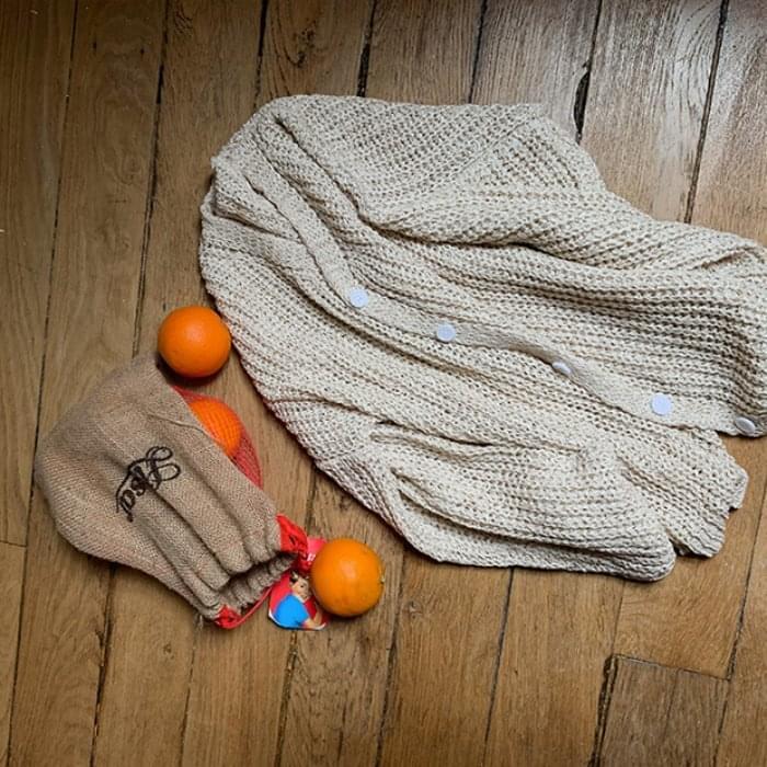Bucket Knit - Bulk Cardigan