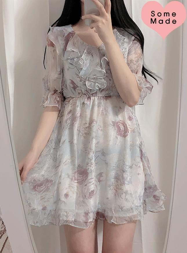 ♥ Aurora floral frills ops