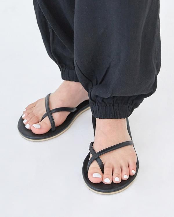 cross buckle sandal (230-250)