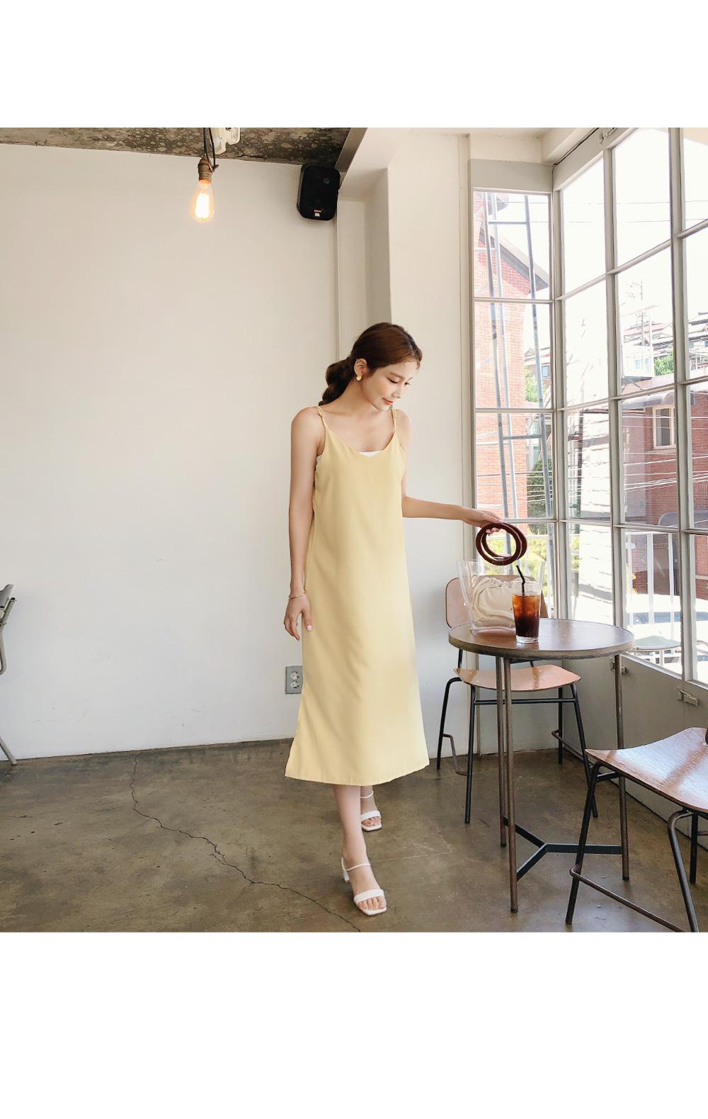 Pure Yellow Dress