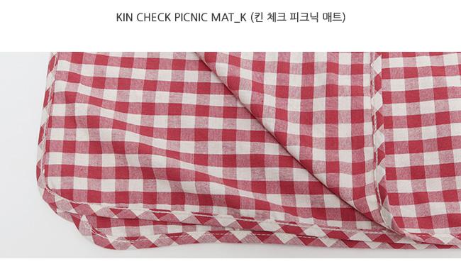 Kin check picnic mat_K