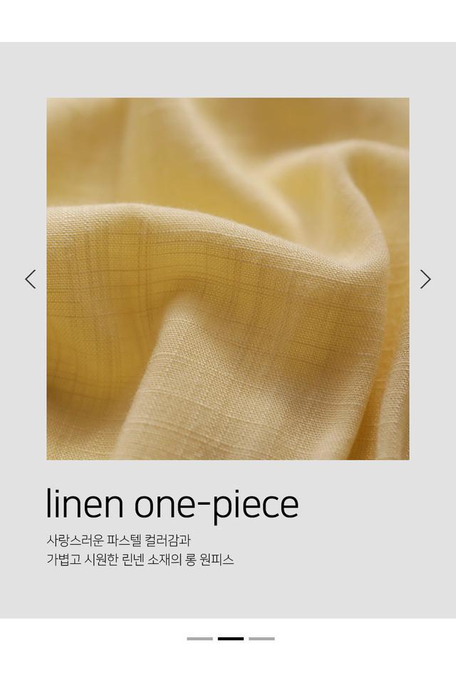 Ip Only Linen Long Dress