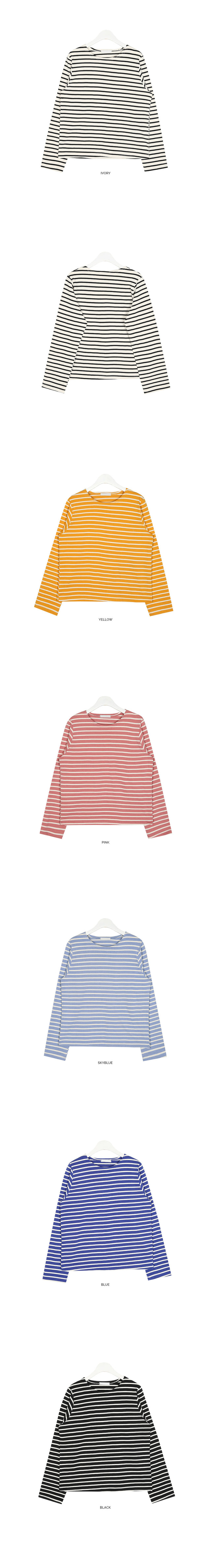 bread daily stripe T