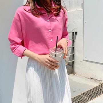 Vivid Merry Linen Shirt
