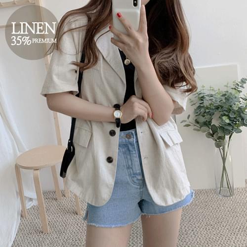 Warner Ten Linen Jacket