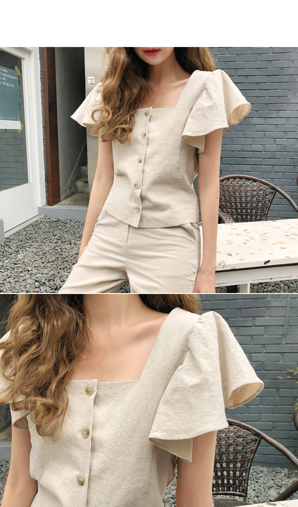 Shalala frill blouse