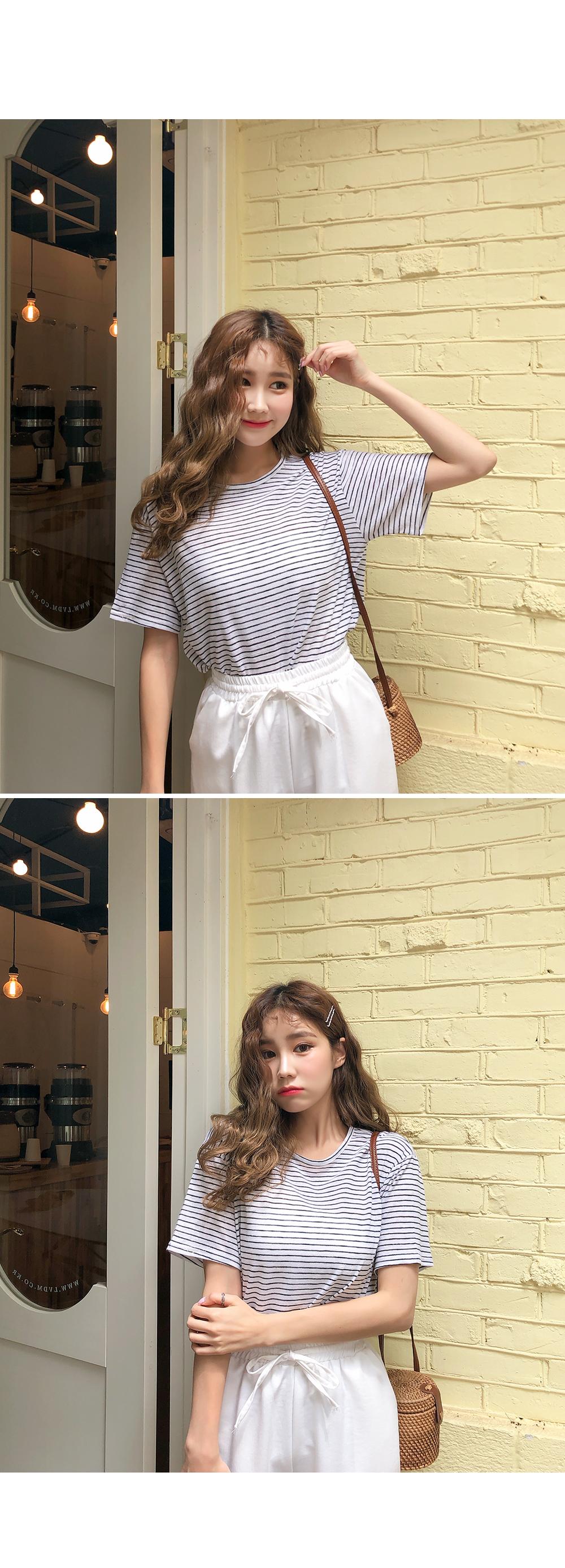 Jasmine Dangara Linen Tee