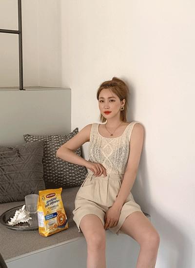 Select U-neck Knitwear Sleeveless