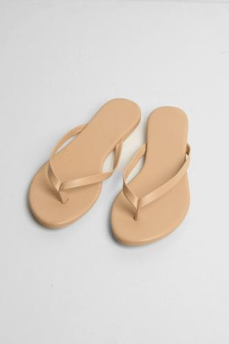 easy outline flip flops (3colors)