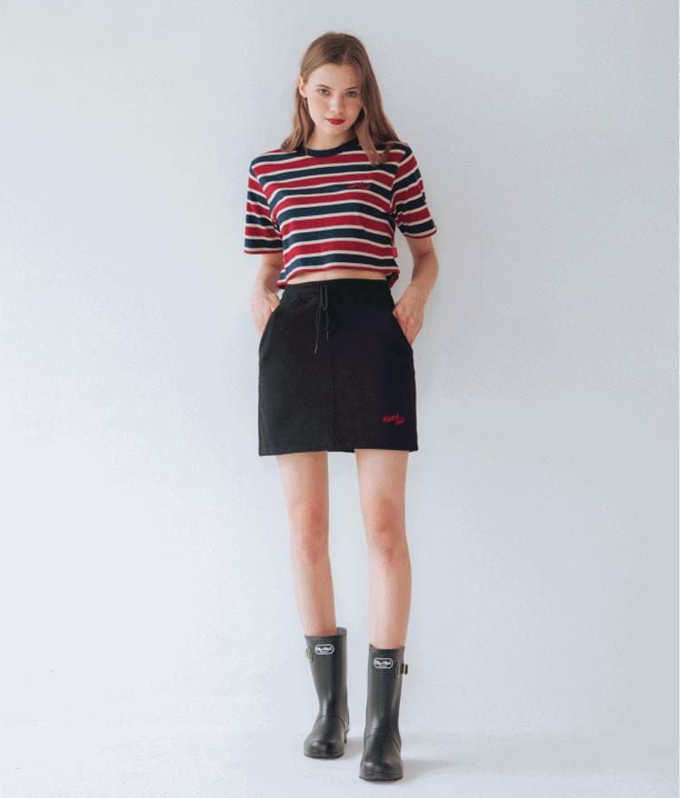 Heart Logo Sweat Skirt