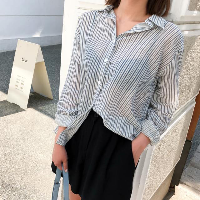 modern stripe cotton shirts