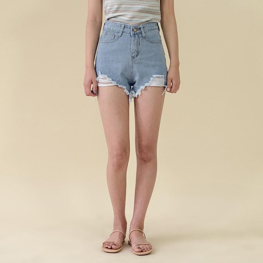 Cotton Cutting Short Pants