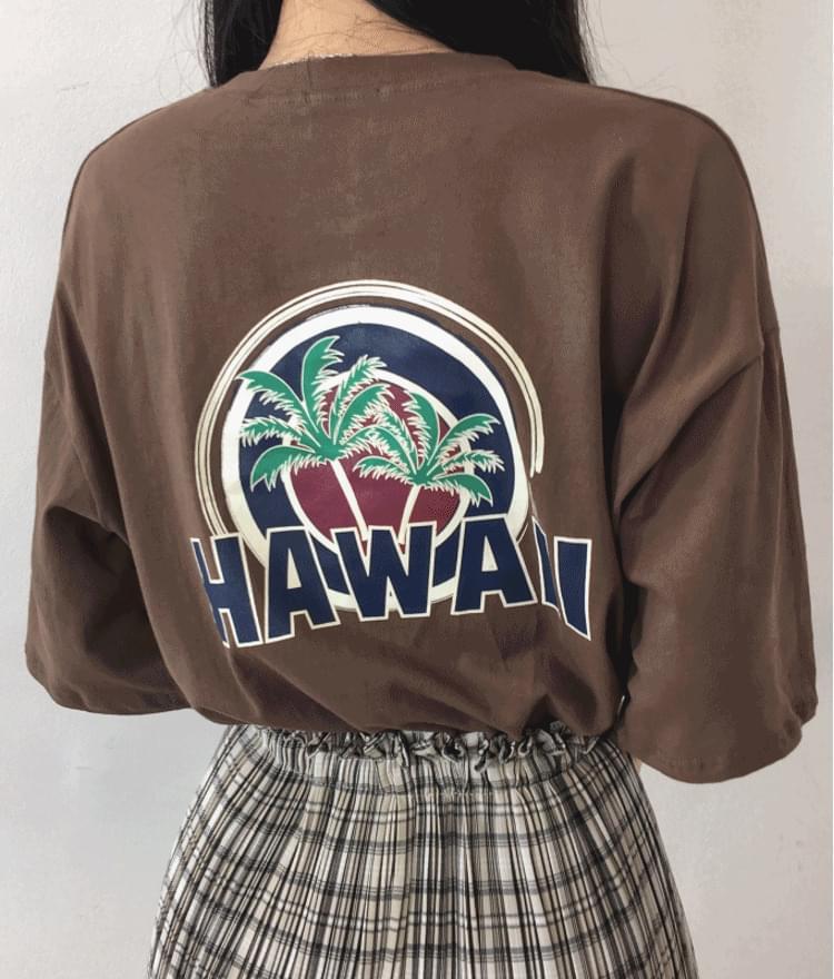 Hawaii Palm T-shirt