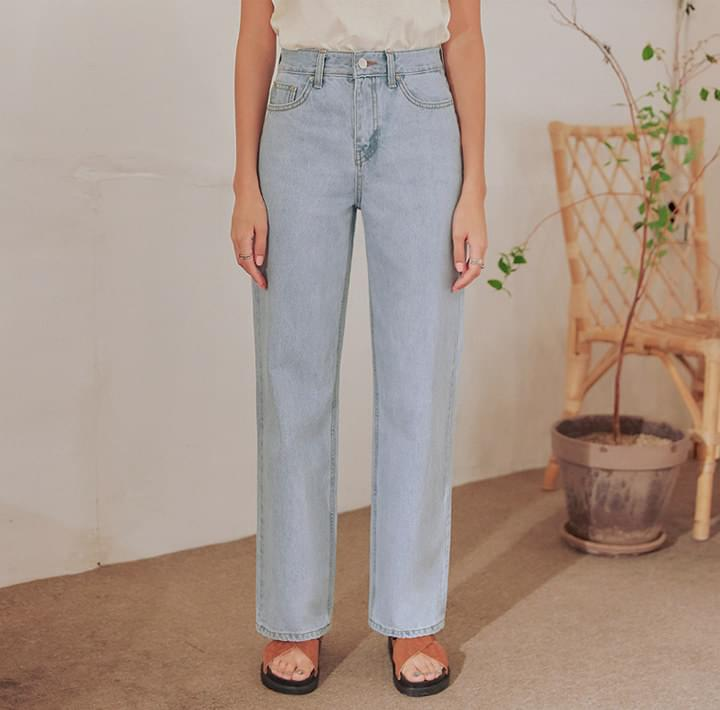 ARTY STRAIGHT LONG DENIM PANTS