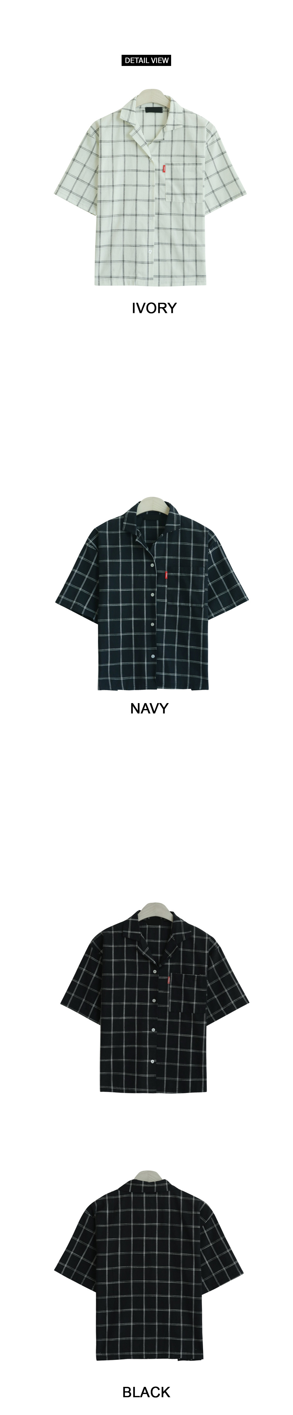 Triple Check Short Sleeve Shirt