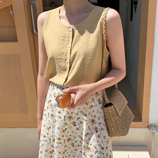 Two-buttoned nail blouse