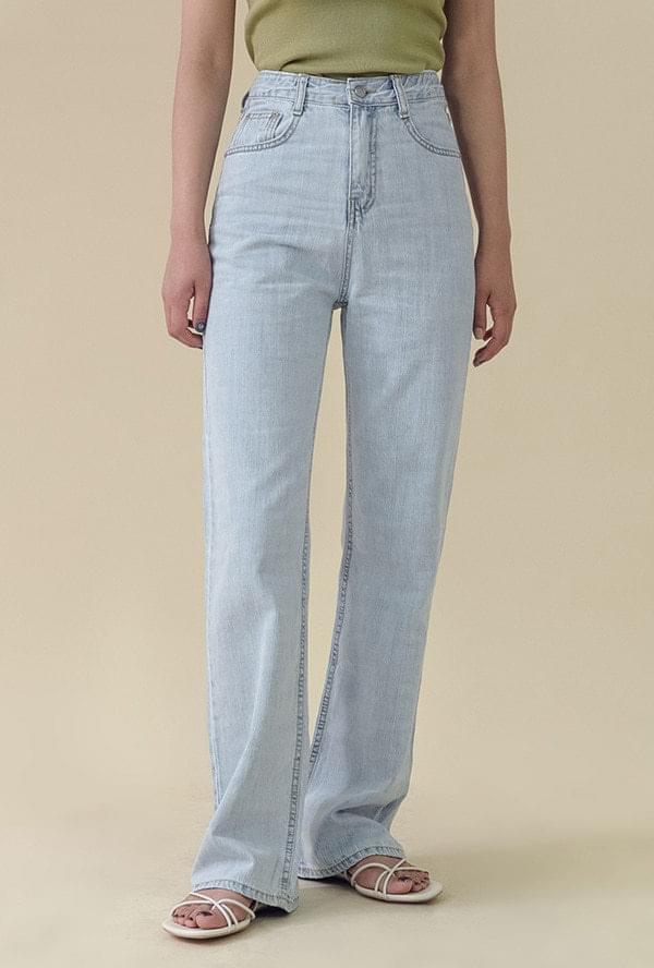 Date slim-fit denim pants