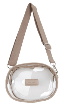 Transparent dongle bag