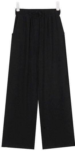 FRESH A cozy linen banding pants