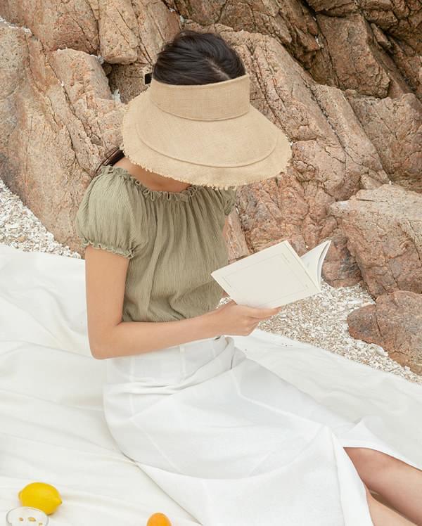 daily linen dori hat
