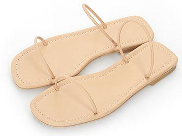 Self-Strap Slippers