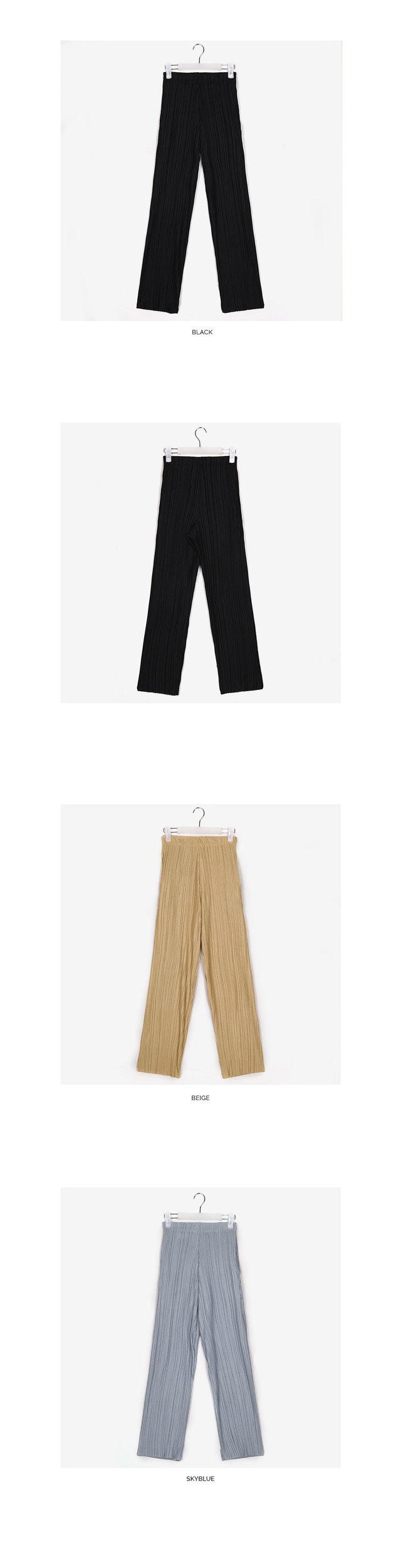 show pleats pants