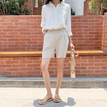 Low-linen pants