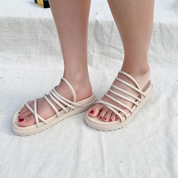 The X-bar sandals