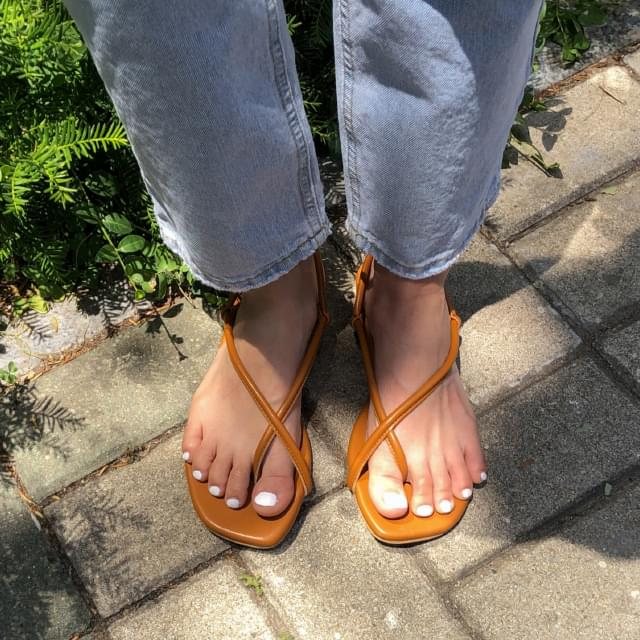 cross flip-flop sandal サンダル