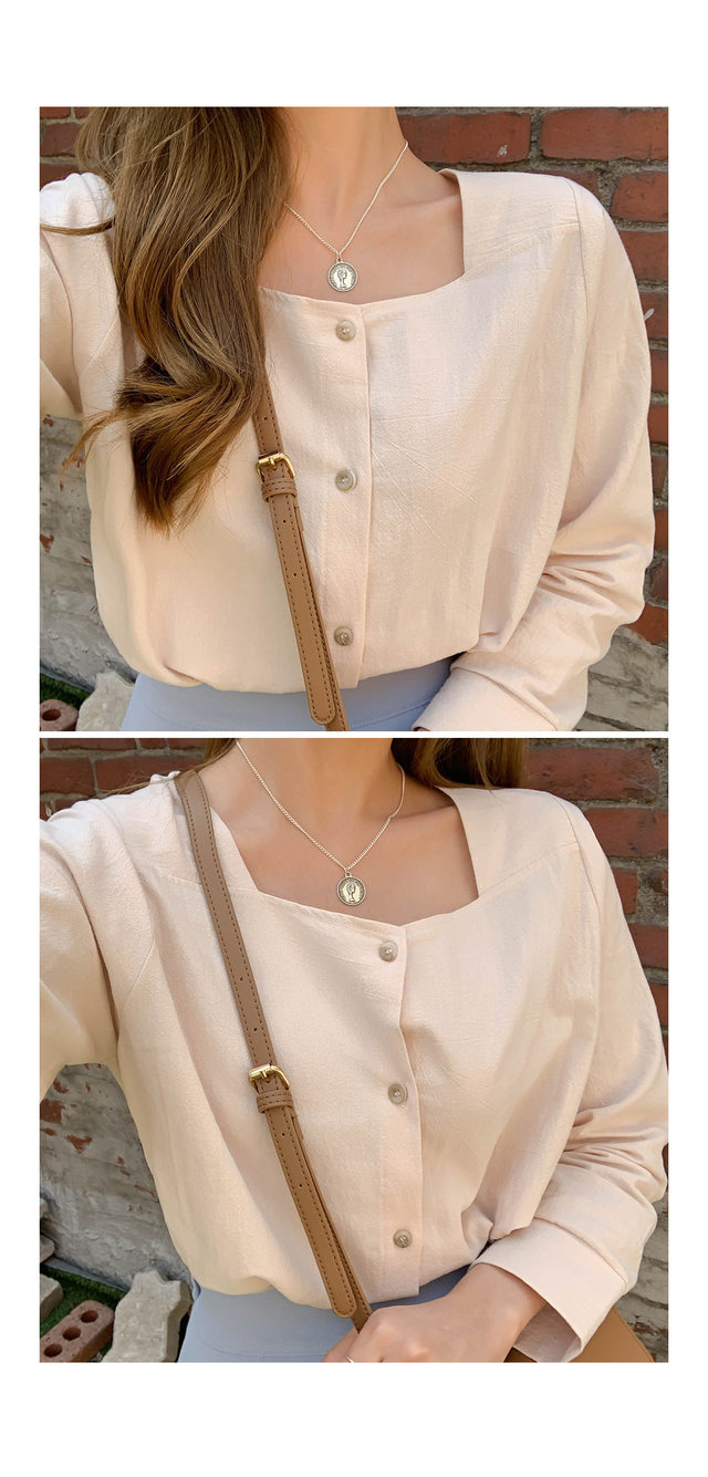 Amber Square Blouse