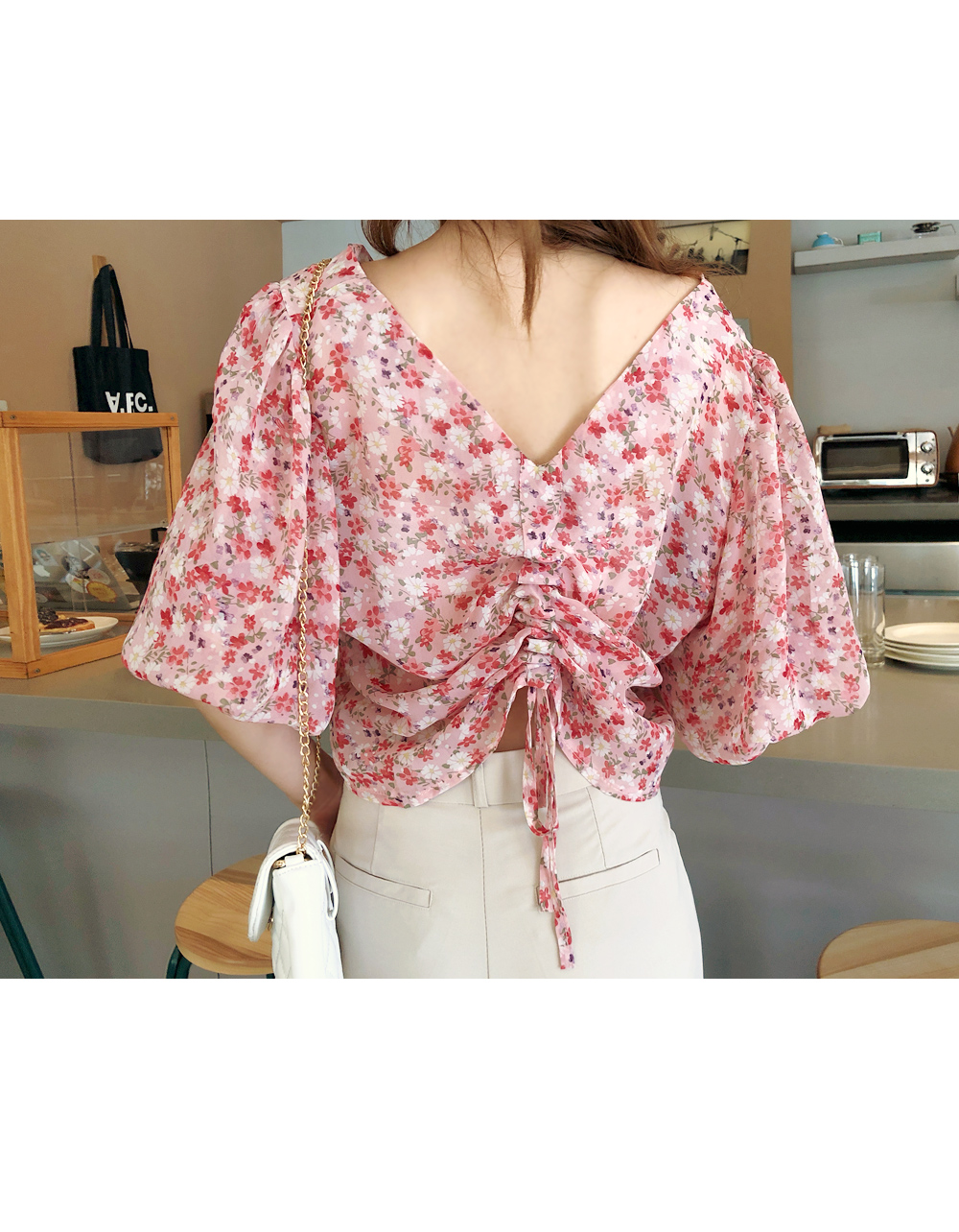 Try it on both sides Blouse