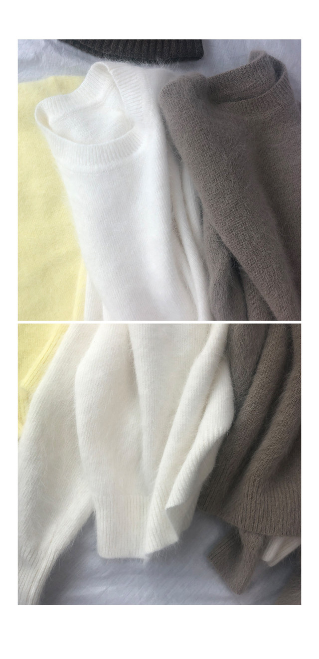Adele Angora Knit