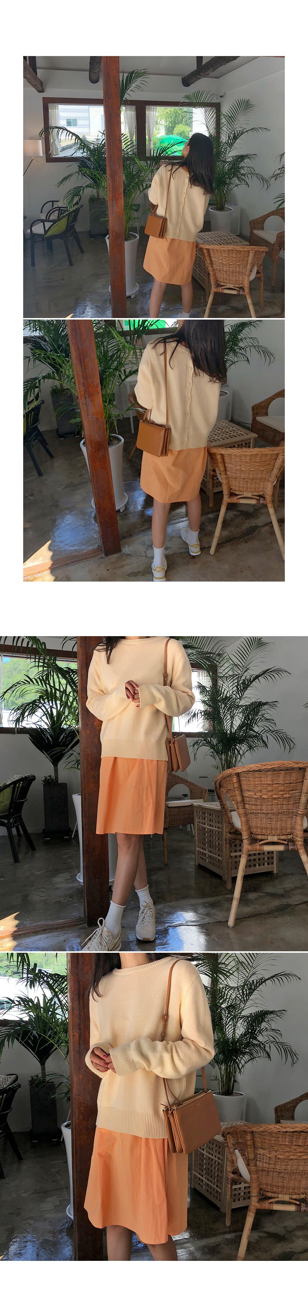 Buttercream - Knit & Cardigan