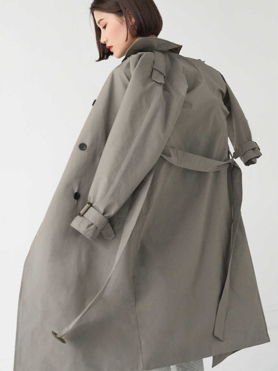 Daily classic trench coat-ct
