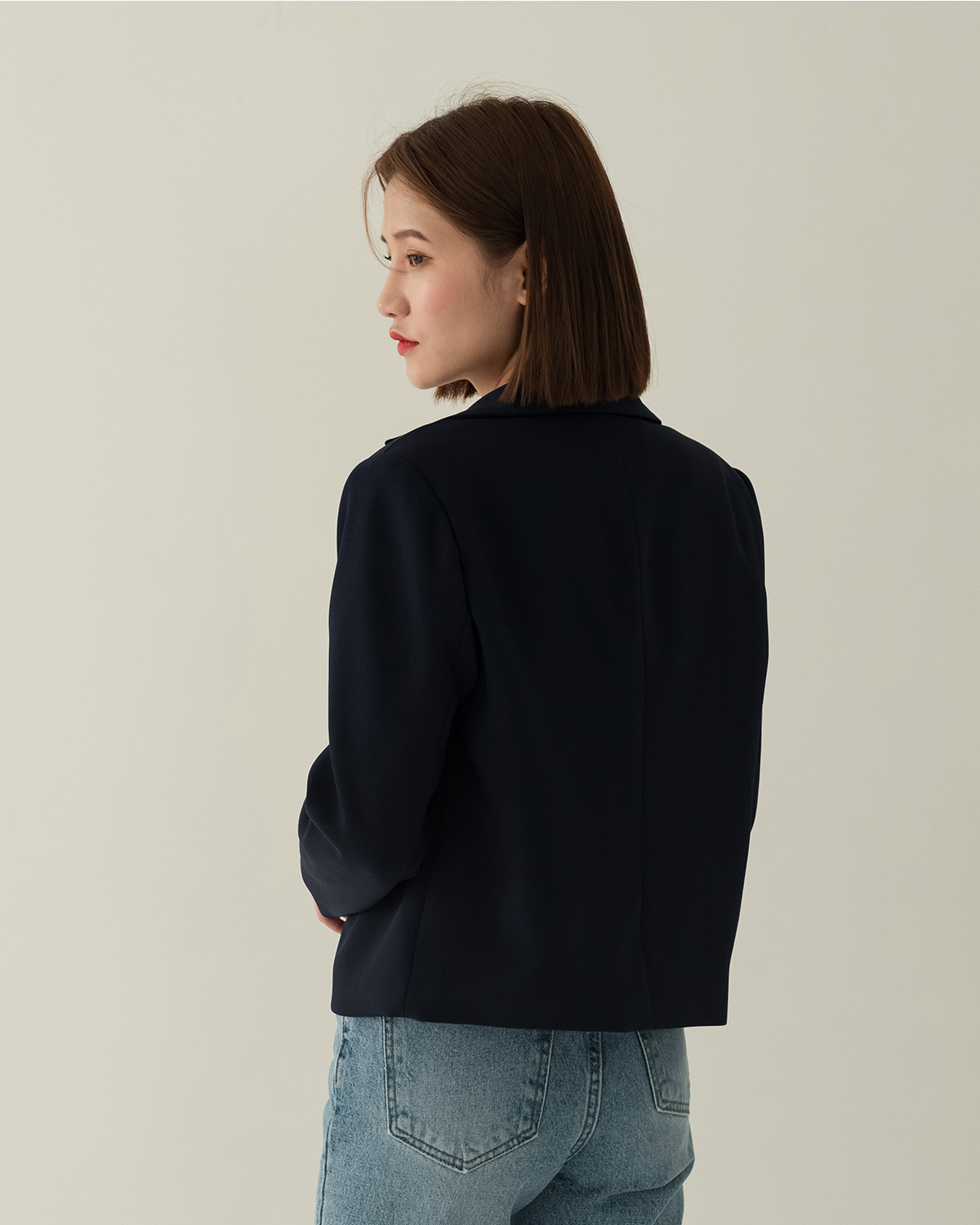 two button single jacket