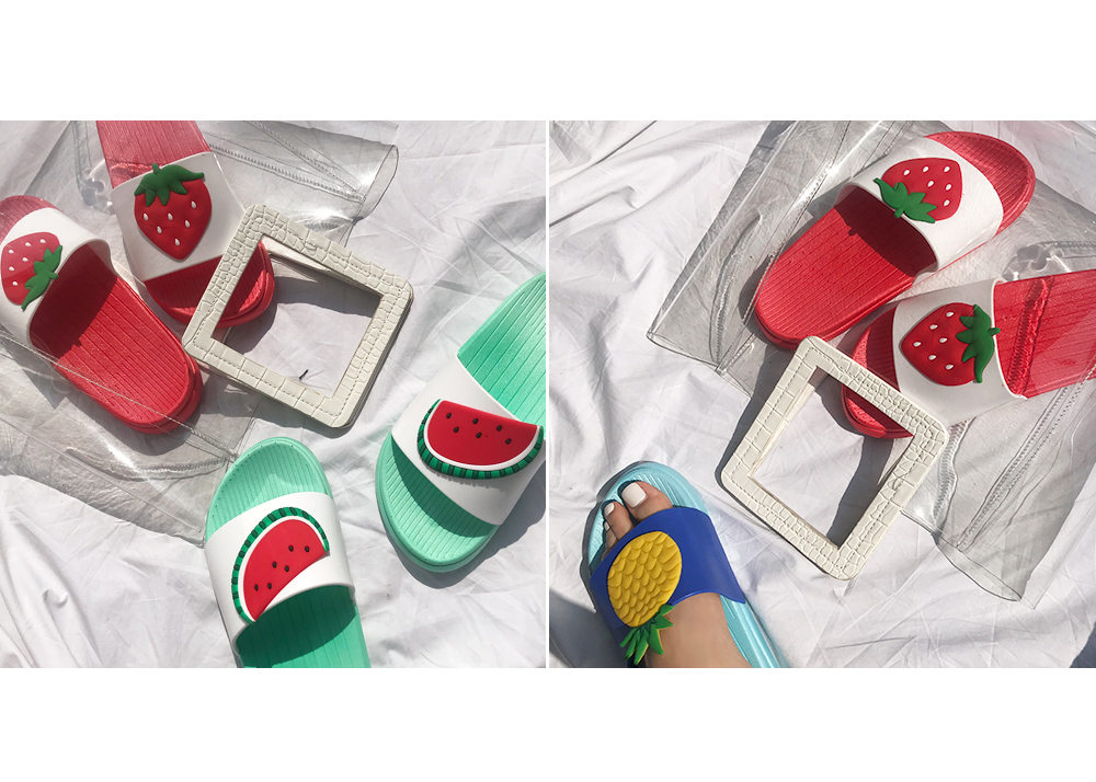 Saw Sweet Fruit Slippers 2cm