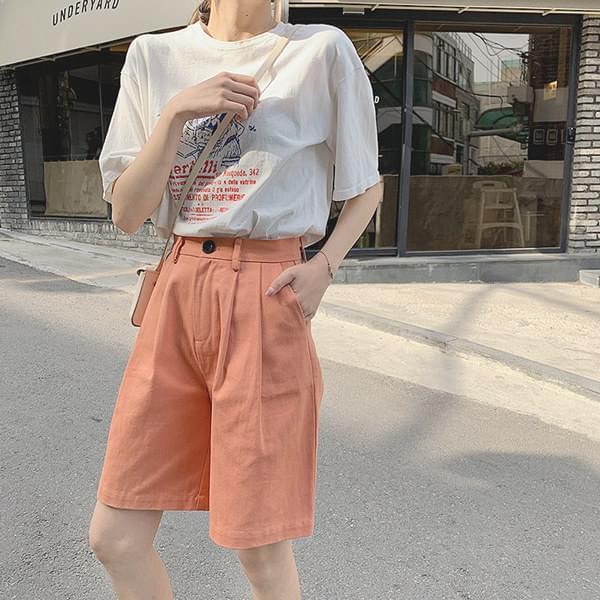 Color Basic 5 pcs cotton shorts