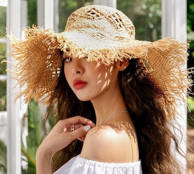 Irish Raffia Hat